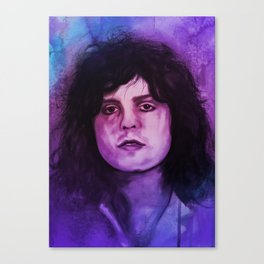 Marc Bolan - T.Rex Music Portrait Canvas Print