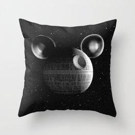 That's no moon... Disney Death Star Throw Pillow
