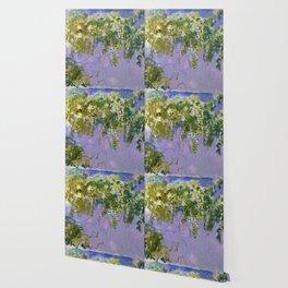 "Claude Monet ""Wisteria"", 1920 (left side) Wallpaper"