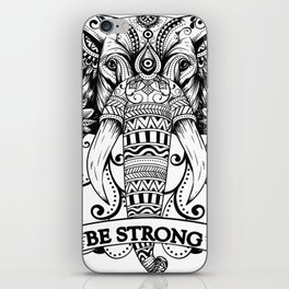 Mandala Elephant iPhone Skin