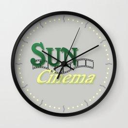 Sun Cinema Wall Clock