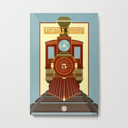 California State Railroad Museum Metal Print