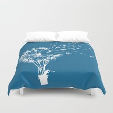 Going where the wind blows Duvet Cover