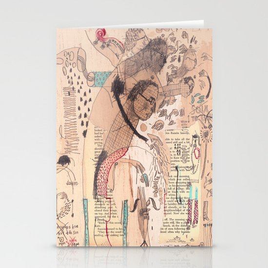 Bassist Stationery Cards