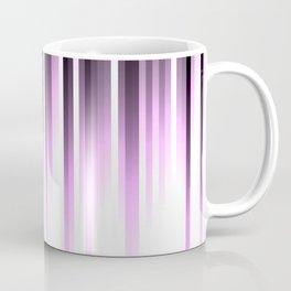 Ultra violet madness, dark shades lines print Coffee Mug