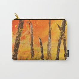 in fire Carry-All Pouch
