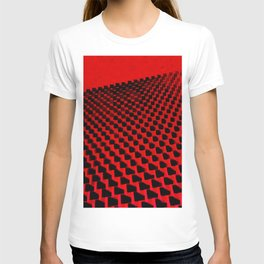 Eye Play in Black and Red T-shirt