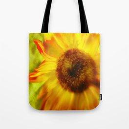 Sunflower A Blaze Tote Bag