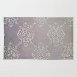 Vintage Damask - Violet Rug