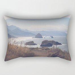 Path to Cannon Beach Rectangular Pillow