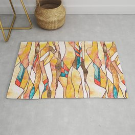 Monegros Abstract Landscape Rug