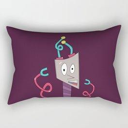 Davey Bot Rectangular Pillow