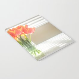 Orange Tulips Notebook