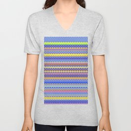 Stripe Me Now Unisex V-Neck