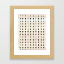 Confusing Coleopterists Framed Art Print