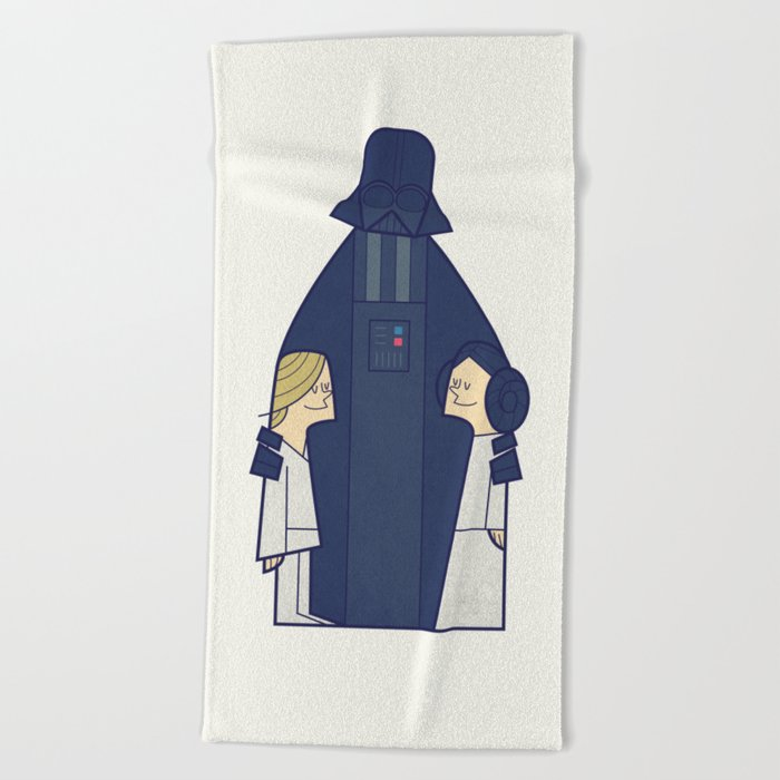 May the Love be with you Beach Towel