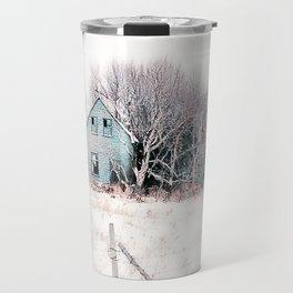 Tattered Curtains Travel Mug