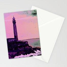 Golden Hours / Lighthouse Barlovento La Palma Stationery Cards