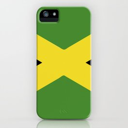 Jamaica flag emblem iPhone Case