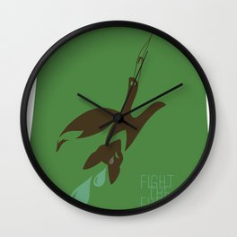 Labelled. Wall Clock