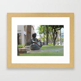Waikiki Framed Art Print