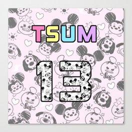 Tsum  jersey Canvas Print