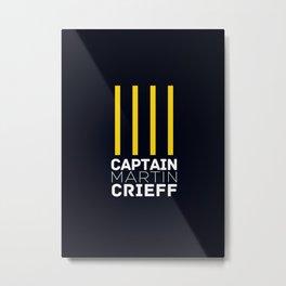 Captain Martin Crieff Metal Print