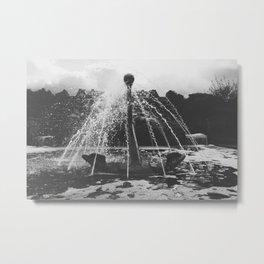 Anchor Fountain II Metal Print