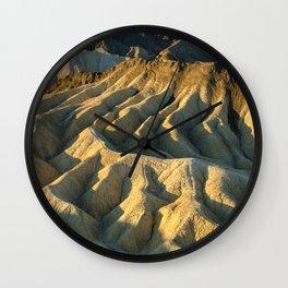 Death Valley - Zabriskie Point Wall Clock