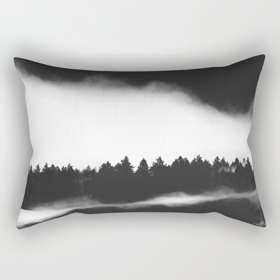 The Woods are calling Rectangular Pillow