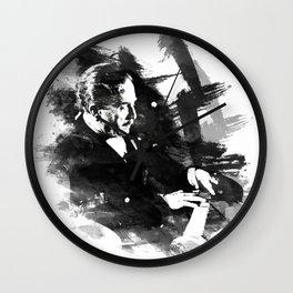 Piano Genius Arrau Wall Clock