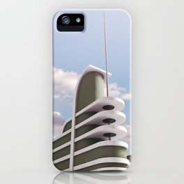 PAN PACIFIC AUDITORIUM COLOR iPhone Case