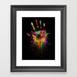 Artist Hand Framed Art Print