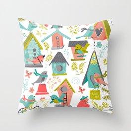 It's a Bird's Life Throw Pillow