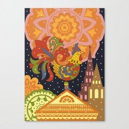 Cockerel Canvas Print