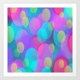 SoftBubble ights Art Print