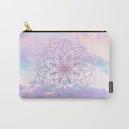 Star Mandala Unicorn Pastel Clouds #1 #decor #art #society6 Carry-All Pouch