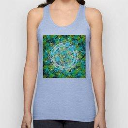 Cosmic Mandala Unisex Tank Top