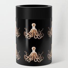 Octopus sea nautical beach coastal Can Cooler