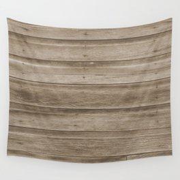 Natural Wood Wall Tapestry
