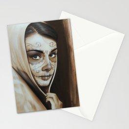'Hepburn De Los Muertos' Stationery Cards