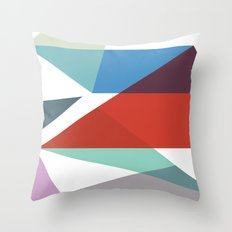 Shapes 015 Throw Pillow