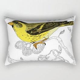 Technicolour Siskin Rectangular Pillow
