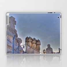 Casa Milà rooftop, Barcelona, Spain Laptop & iPad Skin