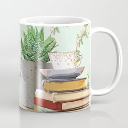 Tea and book love Coffee Mug