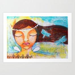 The Peace Fairy Art Print
