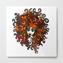 Medusa | Sea Legand Metal Print