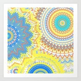 Mandala Love 2 Art Print