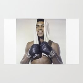 """Muhammad """"Greatest of All Time"""" Ali Rug"""