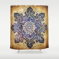 gypsy Shower Curtains featuring Gypsy Magic by Jenndalyn
